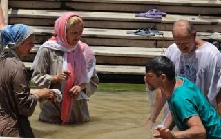 Mideast Jordan Holy Land Jesus Baptism-5