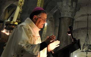 Patriarch-Fouad-Twal-Latin-Patriarch-of-Jerusalem-preaching