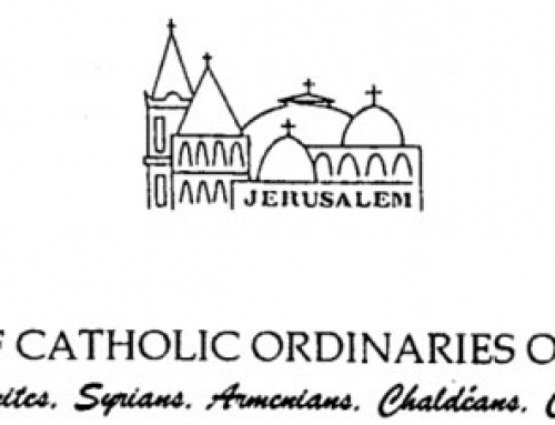 2015 Christmas Message from the Assembly of the Catholic Ordinaries of the Holy Land