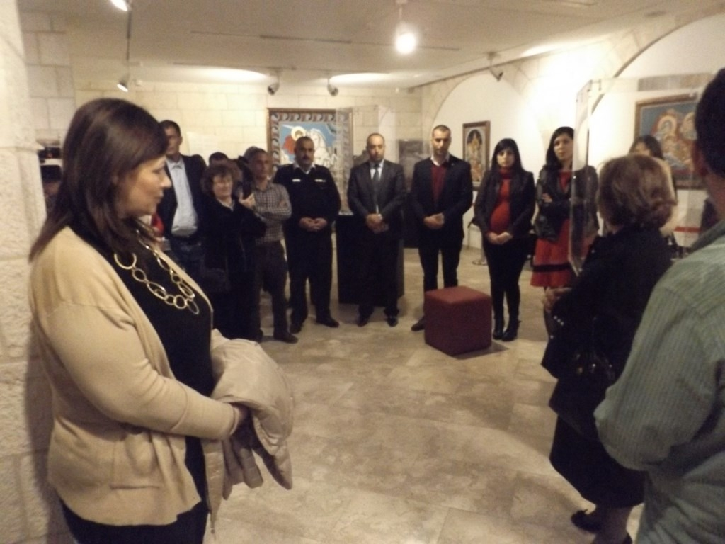 Bethlehem community members enjoy opening remarks at Bethlehem Museum's First Year Anniversary Celebration – March 5th, 2016