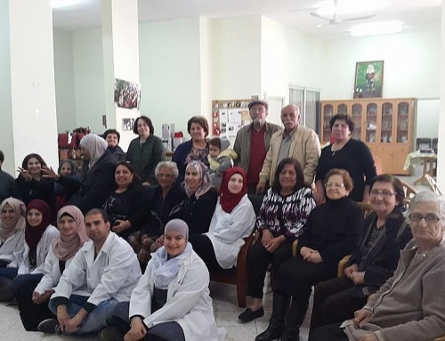 Birzeit University Nursing School Students Visit BSCC to Give Health Check-ups