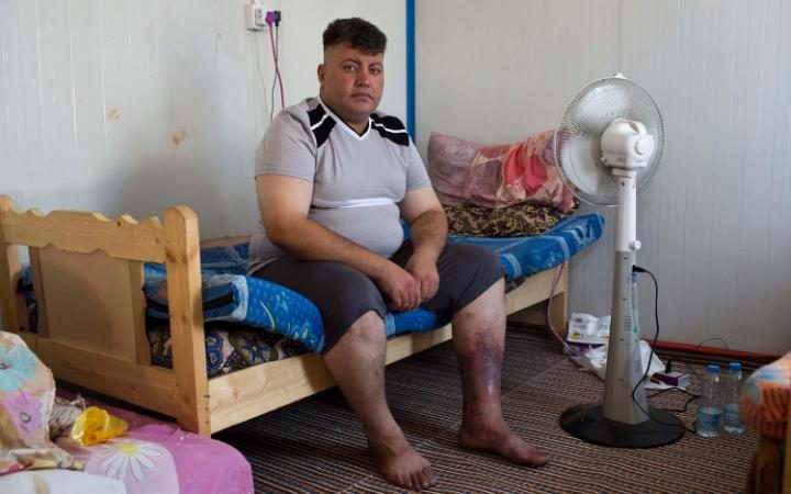 Carlos Kamel was imprisoned and tortured by ISIS for 6 weeks before he was finally released