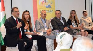 From Left to Right: Dr. Walid Zayed, Ms. Hadeel Ibrahim, Mr. Mohammad Attoun, Dr. Assad Abdulrahman, Ms. Annette Kafie, and Ms. Manal Farhan.