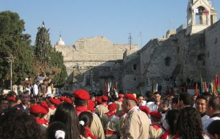 Palestinian_Christian_Scouts_Nativity_Church_in_Bethlehem_Christmas_Eve_2006