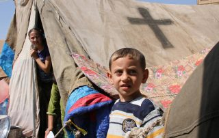 Only one of the 483 Syrian refugees admitted by the United States to date was Christian, although Christians are estimated to comprise 10 percent of the Syrian population. Photo: Open Doors