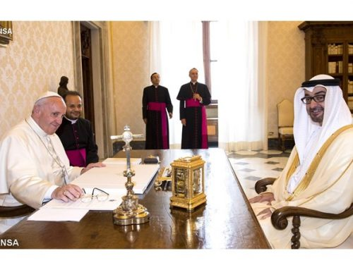Pope Francis meets with Crown Prince of Abu Dhabi