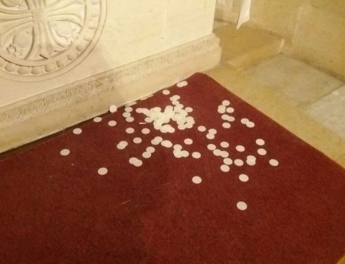Condemnation of vandalism act against Church of Transfiguration