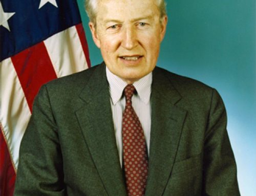 "HCEF Mourns Loss of ""Faith into Action""  Diplomat Donald Kruse"