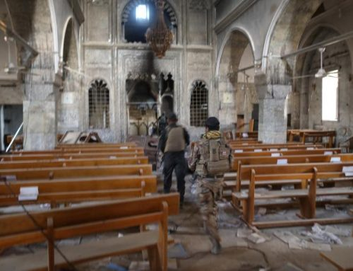 Church bells peal in town retaken by Iraqi troops from Islamic State