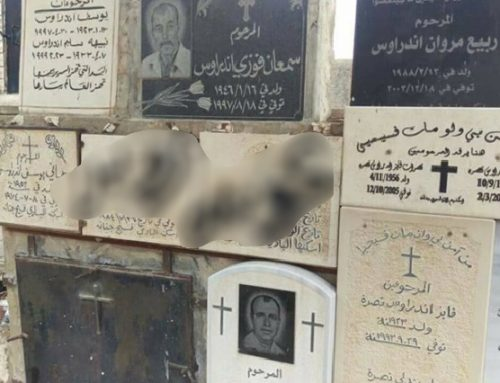Christian Cemetery in Galilee desecrated