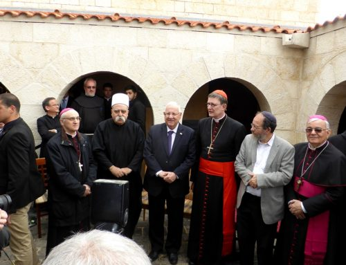 "Cardinal Woelki in Tabgha : ""In a Time of Growing Nationalism, We Need Reconciliation"""