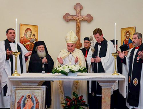 Address of His Beatitude the Patriarch of Jerusalem at the Anglican Church in Acre