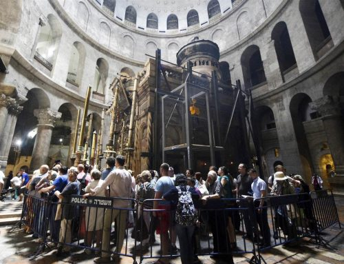 The Holy See offers a contribution for the restoration of the Holy Sepulcher and Nativity