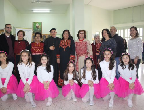 Birzeit Senior Citizens Celebrate Mother's Day in Style with the Young
