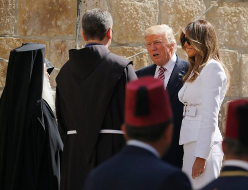 Trump arrives in Holy Land, visits Holy Sepulcher, Western Wall