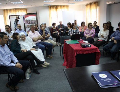 HCEF and Pontifical Mission for Palestine Launch another New Community Development Projects to Support the Christian Community