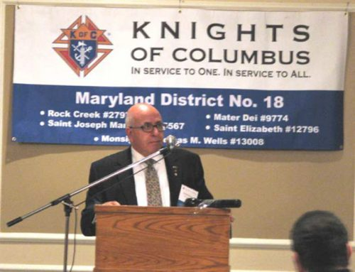 Knights Of Columbus, Maryland State Council – District 18 In Partnership With HCEF Launches Committee To Support Persecuted Christians In The Middle East