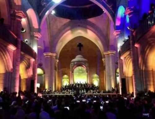 Aleppo, Mozart's Mass in the church still in ruins. The Maronite Archbishop: It is a sign of the rebirth of the martyred city