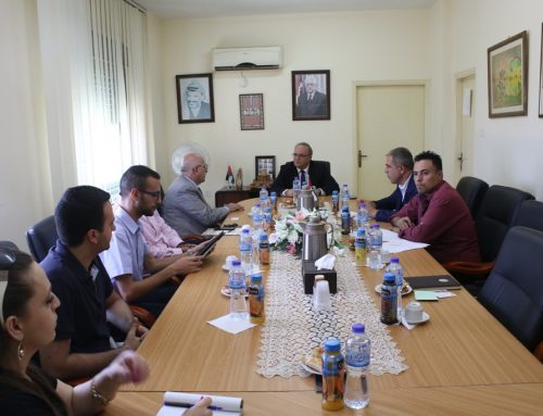 Minister of Social Development meets with Holy Land Christian Ecumenical Foundation