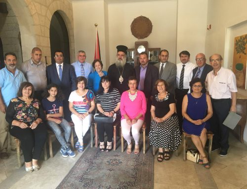 HCEF holds meeting with its partners in Bethlehem in honour of Dr. Hanna Hanania