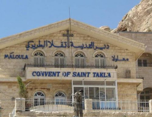 Churches, destroyed and looted by ISIS, being restored in Syria