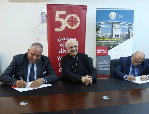 AUM, Caritas Jordan sign MoU to promote cooperation