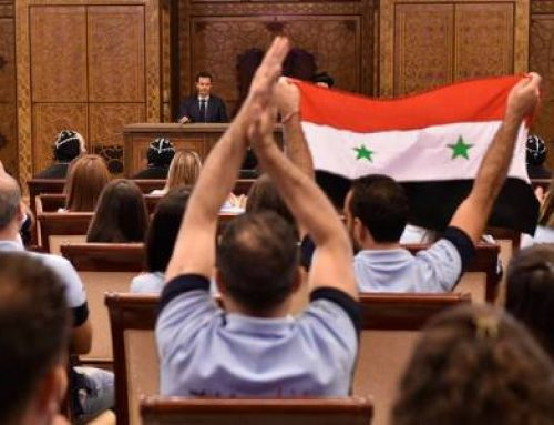 "Assad to young Syriac-Orthodox Christians in Syria are not hosts or ""migratory birds"""