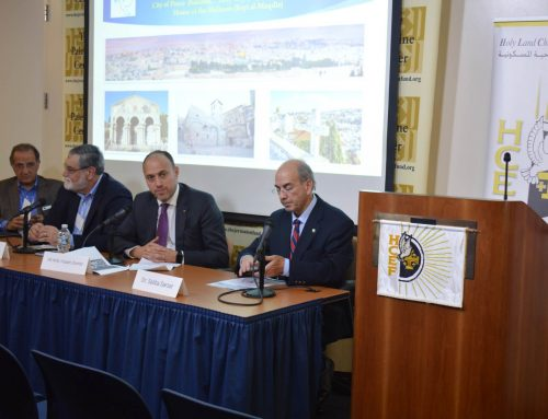 "HCEF holds another successful educational international symposium, ""Jerusalem: The city of Peace for All"""