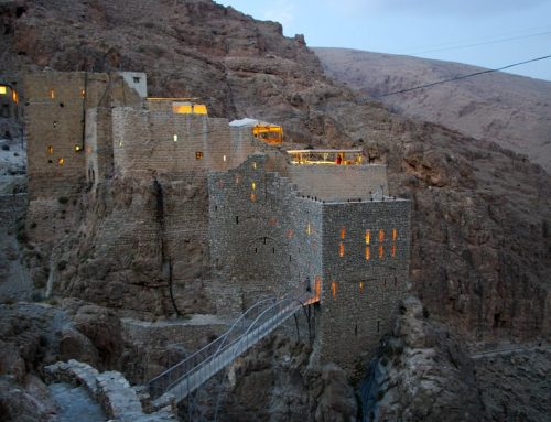 After the war years, the monastery of Deir Mar Musa flourishes again