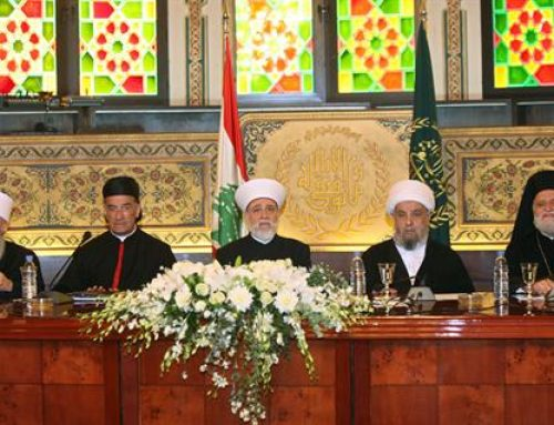 "Summit in Bkerké: Christian and Muslim leaders united in ""no"" to US choices on Jerusalem"