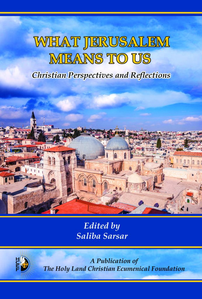 Book Cover, What Jerusalem Means to us