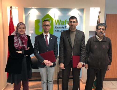 HCEF and Wafaa Work Together to Support Women, Youth and Elders