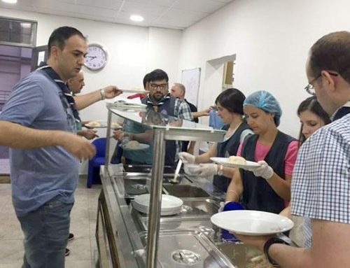 "JORDAN – The ""Restaurant of Mercy"" offers daily evening meal (iftar) to Muslims during Ramadan"