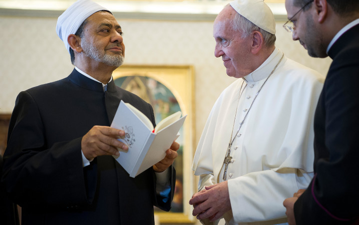 IMAM SAYS MUSLIMS AND CHRISTIANS SUFFER TOGETHER IN MIDDLE EAST