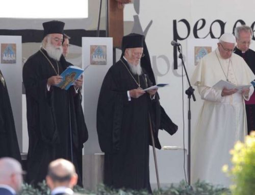 In Bari, Pope decries 'murderous' indifference to a weeping Middle East