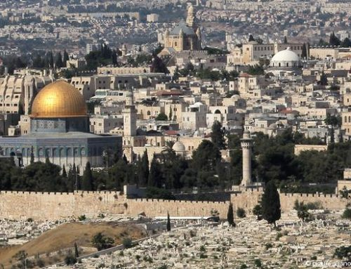 First Christian military pilgrimage convoy to visit Palestine holy sites
