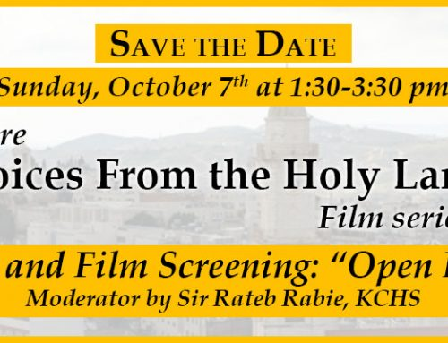 "Discussion and Film Screening: ""Open Bethlehem"""