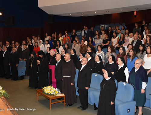 General Secretariat of Catholic Schools in Middle East open sessions.