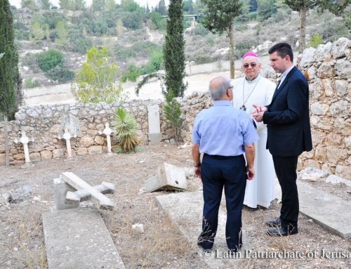 Assembly of Catholic Ordinaries condemns desecration of Salesian Cemetery in Beit Jamal