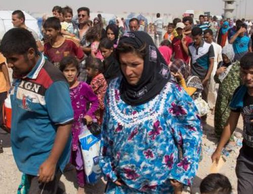 Refugees need spiritual aid, not just humanitarian aid says Christian charity.