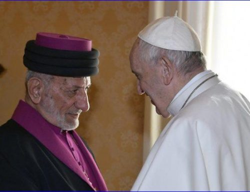 Pope Prays for Peace in Middle East With Head of Assyrian Church.
