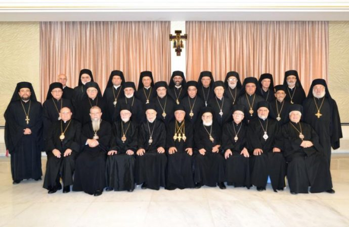 Melkite Catholic bishops criticize deteriorating Palestinian situation.