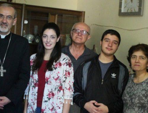Archbishop Pizzaballa visits Christian and Muslim families in Gaza.