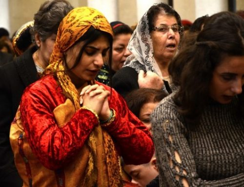 International appeal launched for Christians in the Middle East.