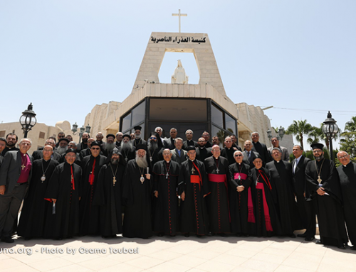 The Council of the Heads of Churches in Jordan calls for love and tolerance.