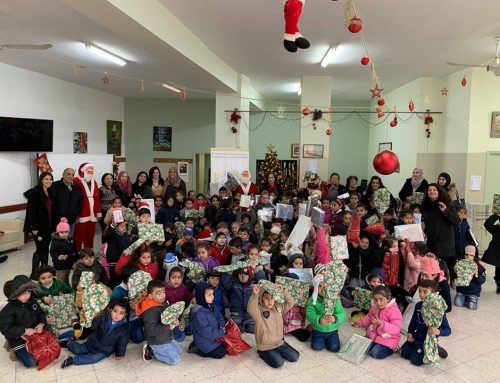 Children of all Dominations and Faiths receive Christmas Gifts By HCEF