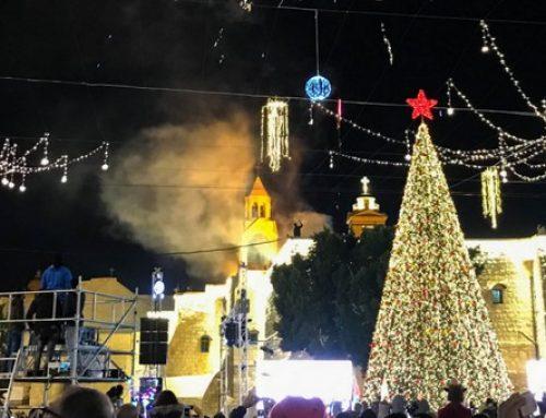Bethlehem kicks off Christmas month with tree lighting.