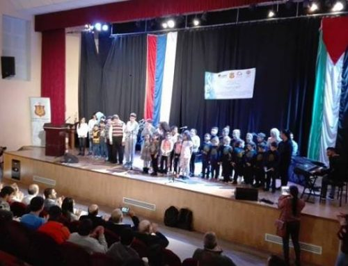 Caritas Jerusalem holds children's concert in Bethlehem.