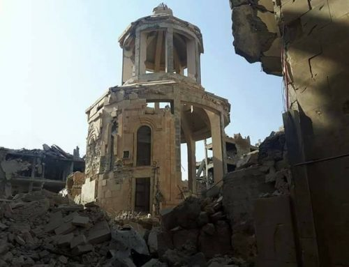 SYRIA – Assad promises to rebuild the memorial church of the Armenian Genocide in Deir ez-Zor.