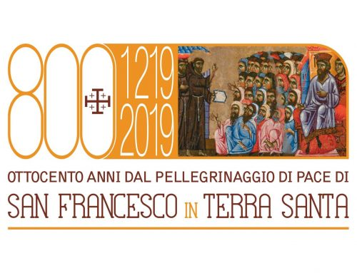 1219-2019, 800 Years from the Pilgrimage of Peace of Saint Francis in the Holy Land.